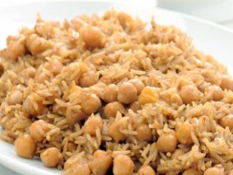 طريقة عمل وتحضير الأرز بالحمص