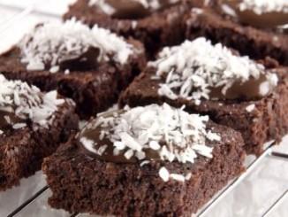 طريقة عمل وتحضير البسبوسة بالشوكولاتة