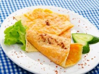 طريقة عمل وتحضير البان كيك بالجبنه الشيدر
