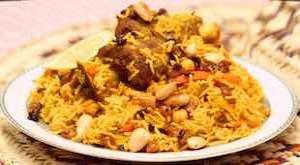 وصفة تحضير الأرز البخاري باللحمة