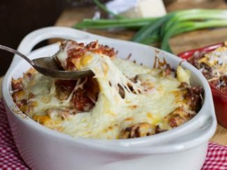 طريقة عمل وتحضير شرائح اللحم مع الجبنه الموزاريلا
