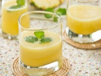 طريقة عمل وتحضير عصير أناناس بالليمون