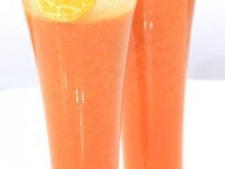 طريقة عمل وتحضير عصير اليوسفى بالفراولة