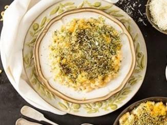 طريقة عمل وتحضير المكرونة بالجبنه والزعتر
