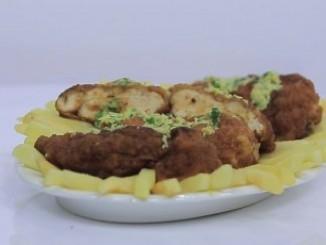 طريقة عمل وتحضير صدور الدجاج بالأعشاب والجبنه