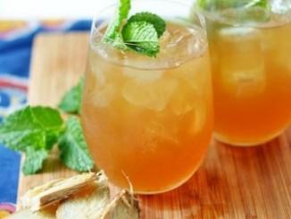 طريقة عمل وتحضير مشروب الجنزبيل البارد