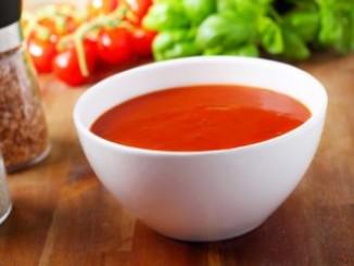 طريقة عمل وتحضير شوربة الطماطم