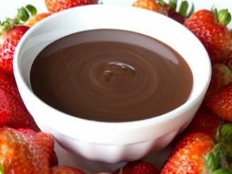 طريقة عمل وتحضير فوندو شوكولاته