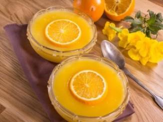 طريقة عمل وتحضير مهلبية البرتقال